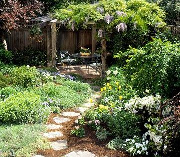 11 Tips To Maximize The Impact In Even The Smallest Landscapes From Better Homes And Gardens We Use Some Landscape Design Dream Garden Beautiful Gardens