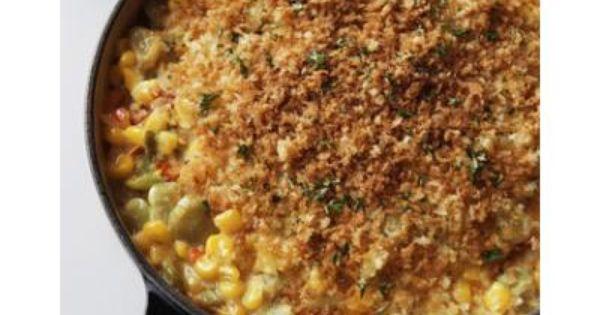 Lima Bean & Corn Casserole | Hot Color | Pinterest | Corn Casserole ...