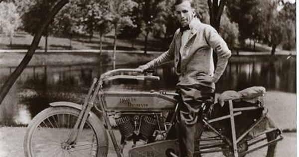Vintage Harley Davidson Motorcycle 1913 Old Time Harley Davidson
