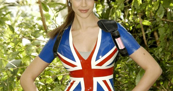 Character: Lara Croft. Version: Union Jack (Latex Skirt). Official Promotional Shoot. Videogame