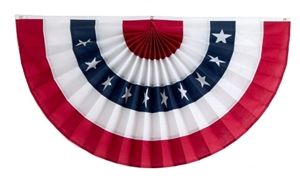 American Flag Bunting For The 4th Of July Independence Bunting American Flag Bunting Patriotic Flag Bunting Bunting Flags