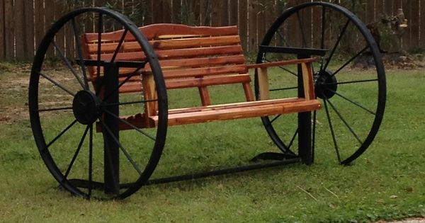 My Cedar Swing In The Wagon Wheel Frame Things I Like Pinterest Wheels The O Jays And Swings