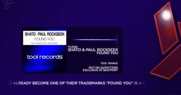Shato Paul Rockseek Have Been Constantly Building A Name For Themselves With Strong Releases Like Wonderfooled And O W N E D Found You Remix Best Track
