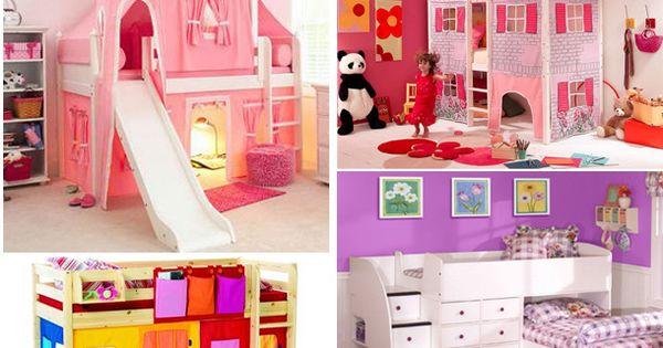 Literas infantiles pieza de los ni os pinterest bunk - Literas infantiles con tobogan ...