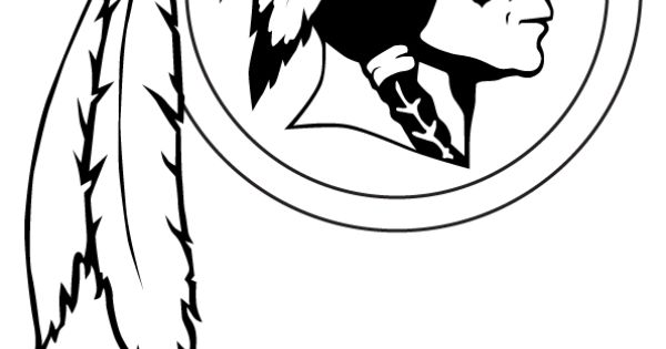 washington redskins logo coloring pages - photo#8