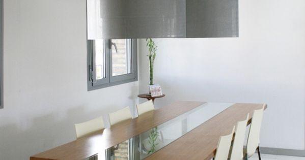 Dise o y fabricaci n de mesa de comedor a medida de madera for Comedores en acero y vidrio