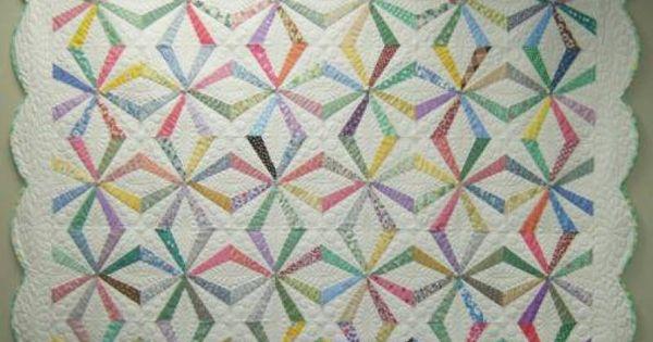 Grandmother S Jumping Jacks Pattern Quilts Pinterest