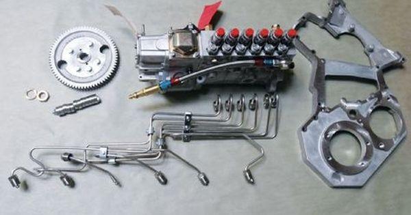 P Pump 24 Valve Cummins Swap Bosch P7100 Injection Pump Diesel Power Magazine Cummins Cummins Parts Cummins Engine