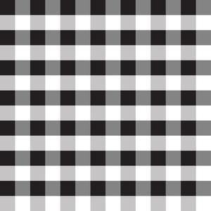 Black Buffalo Check Plaid Pattern Design Store Silhouette Design Plaid Diy