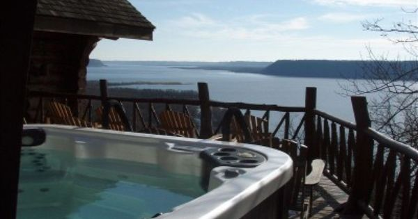 40 acre wooded retreat overlooking lake pepin with lakefront for Lake pepin cabin rentals