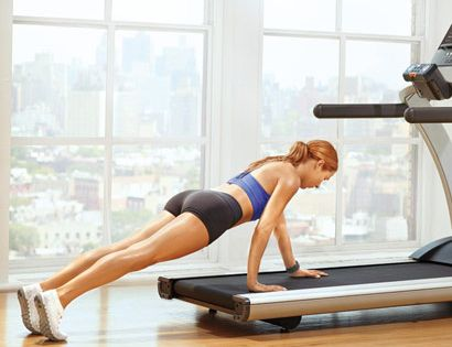 Tone Your Entire Body With Just Seven Treadmill Moves | Wheelbarrow: Works