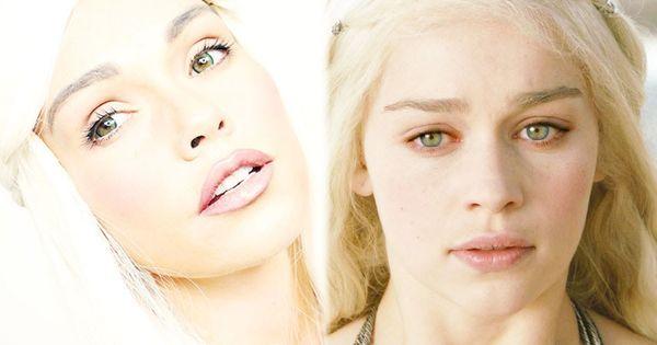 Daenerys targaryen game of thrones costume makeup for Daenerys targaryen costume tutorial