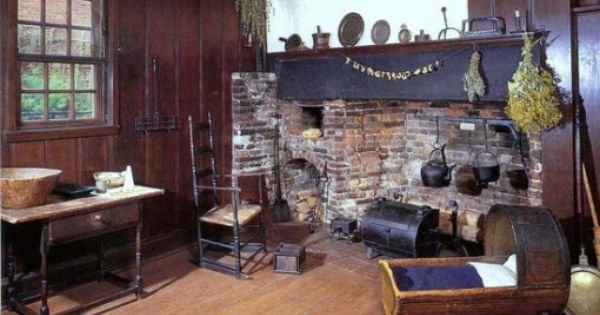Boston Paul Revere House Primitive Colonial Rooms With