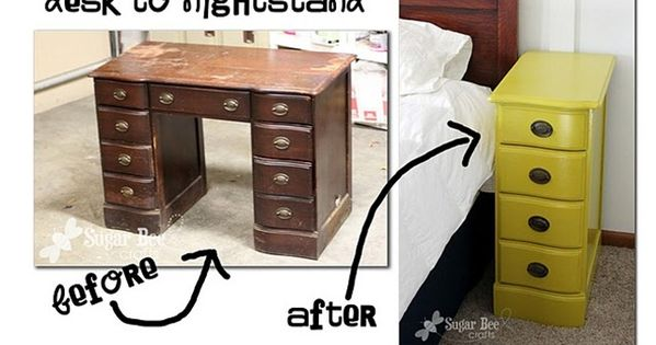 Don't overlook furniture at thrift stores or yard sales that might be