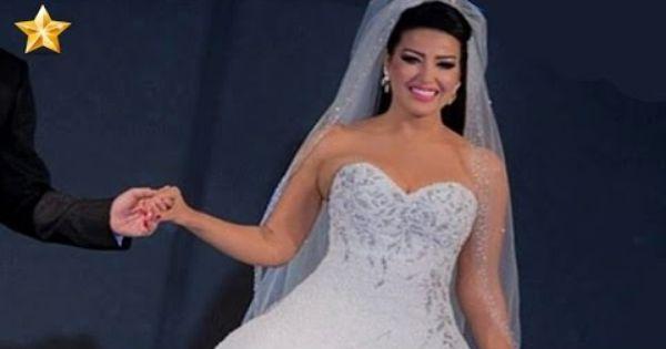 شاهد سمية الخشاب ترتدي أغلى فستان في العالم Dresses Wedding Dresses Strapless Wedding Dress