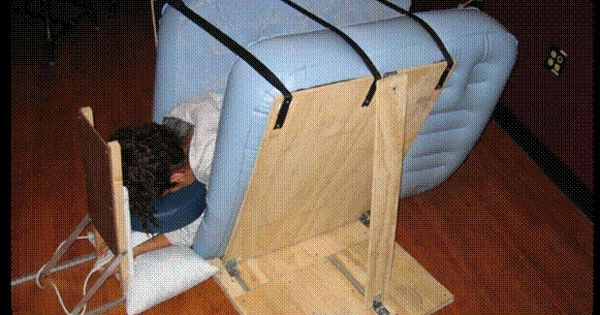 Make your own squeeze machine like Temple Grandin | Autism ...