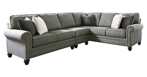 The Kittredge 3 Piece Sectional From Ashley Furniture