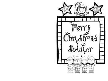 Christmas Cards For Veterans Or Soldiers Christmas Card Sayings Military Christmas Cards Simple Christmas Cards