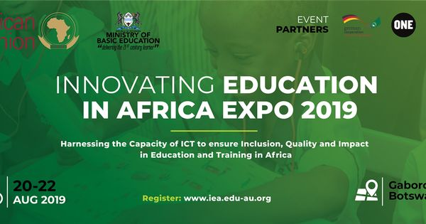 Botswana To Host 2019 The Innovating Education In Africa Expo