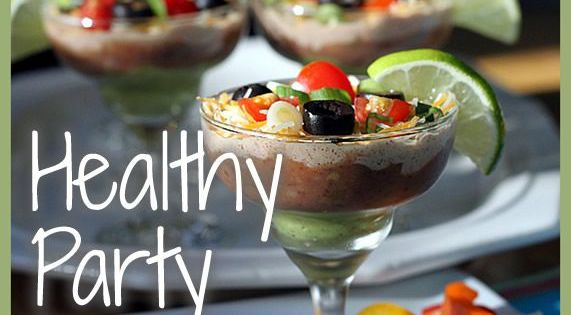 Healthy alternatives to make for your next holiday party!