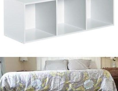 Or you could make a diy platform bed with ikea shelves under bed organiza - Structure futon ikea ...
