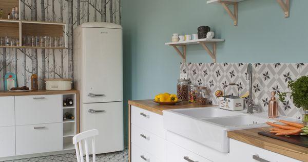Fusion d r novation d coration maison bourgeoise 210 m2 for Cuisine montana conforama