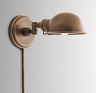 Sconces Rh Baby Child Sconces Wall Lamps Bedroom Bedroom Reading Lights