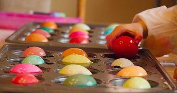 Muffin tin to dye eggs. I love to dye Easter eggs :)