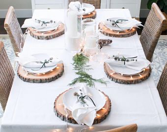 Christmas Table Decor Wood Chargers Plate Chargers Chris Inexpensive Thanksgiving Table Decorations Thanksgiving Table Decorations Holiday Table Decorations