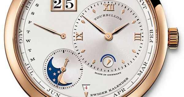 LANGE 1 TOURBILLON PERPETUAL CALENDAR A. Lange & Söhne watch watches time
