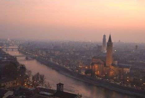 Ahhhh, fair Verona. Italy