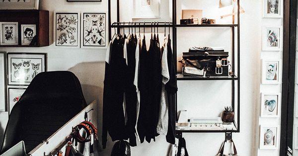 P co journal vagabond tattoo studio design interior for Tattoo shop hackney road
