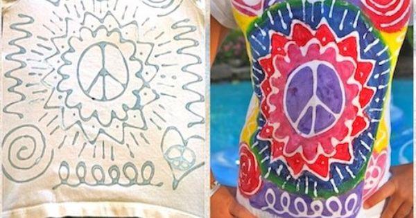 DIY Glue Batik Tshirt
