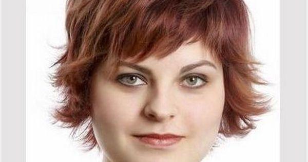Haarschnitte Fur Mollige Haarschnitt Kurz Frisuren Rundes Gesicht Haarschnitt