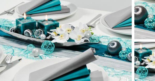petrol silbergrau dekoration hochzeit pinterest silberhochzeit tischdekorationen und t rkis. Black Bedroom Furniture Sets. Home Design Ideas