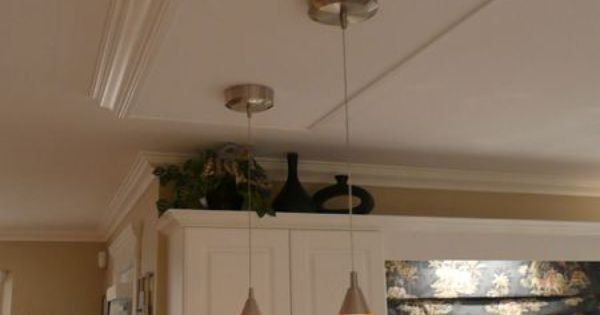 Kitchen Island Ceiling Light Box -