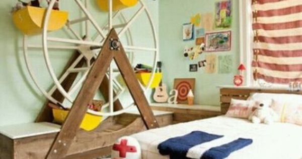 Artistic Living Spaces - boy's rooms - fun kids room, mint green,