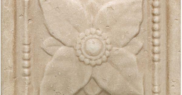 Arabesque Series Crema Laurel Accent Daltile Ceramic