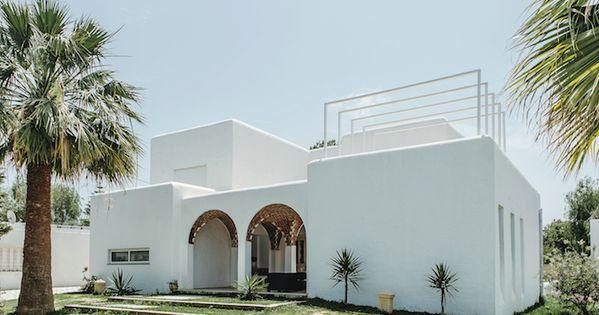 Villa Bianca 5 Architecture Marocaine Maison De Vacances