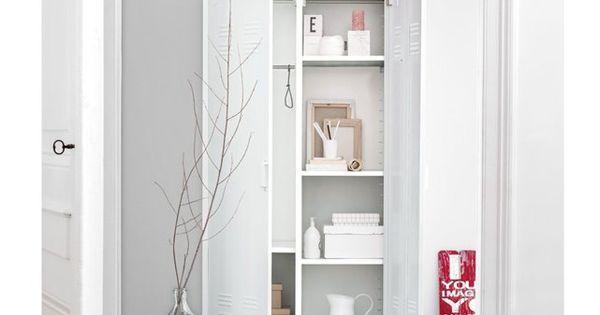 vestiaire m tal 2 portes la redoute chambre anastasia. Black Bedroom Furniture Sets. Home Design Ideas