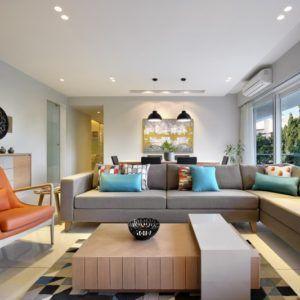 3 Room Flat Interior Design With Elegance Flat Interior Design Flat Interior Interior Design