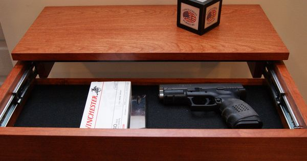 Secret Drawer Shelf Conceal Handgun Png 1 331 215 815 Pixels