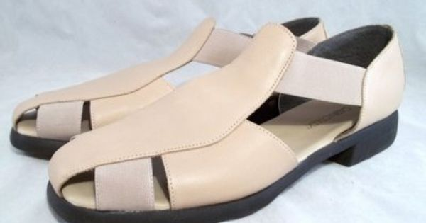 Cabin Creek Clothing: Cabin Creek Leather Fisherman Style Sandals Womens Sz 11M