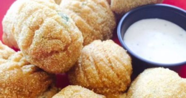Gluten Free Vegan Creole Jalapeno Hush Puppies Recipe Food Network Recipes Food Hush Puppies Recipe