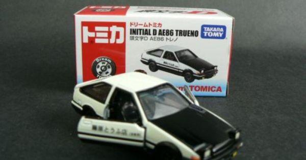 61 Takara Tomy Tomica Dream Series Toyota AE86 Trueno escala 1 Initial D