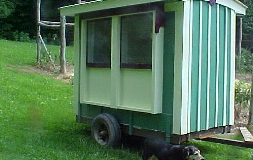 10 easy and cheap chicken tractor coop plans and ideas for Cheap chicken tractor