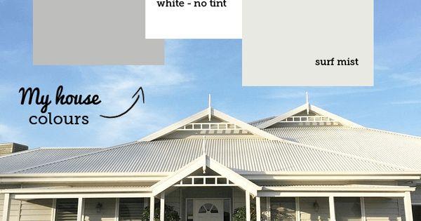 Grey House Paint Colours Paint Color Schemes White Trim