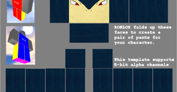 The template for a Roblox shirt I made. | My Creations ...