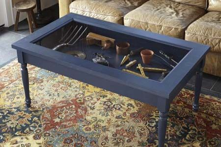 How To Build A Display Coffee Table Display Coffee Table Shadow Box Coffee Table Coffee Table Plans