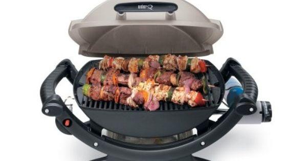 Weber 386002 q 100 portable 189 square inch 8500 btu - Promo barbecue weber ...